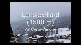 Station de ski Lanslevillard Val Cenis Vanoise