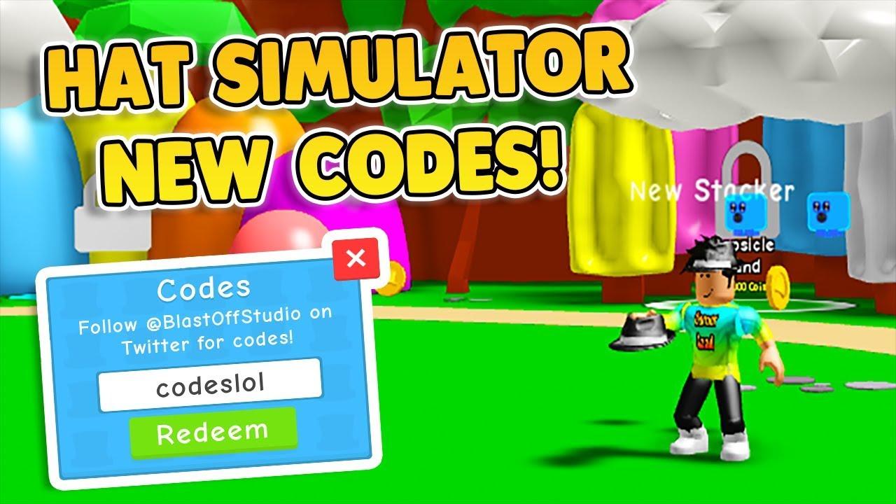 Hat Simulator All Codes Youtube