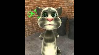Iphone  Веселый , смешной и интересный говорящий кот Том рассказывает стихи на iphone  Мультфильм дл