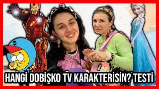 HANGİ DOBİŞKO TV KARAKTERİSİN TESTLERİ ÇÖZÜYORUZ! Dobişko Tv