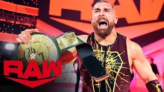 Mojo Rawley seizes the 24/7 Title from R-Truth: Raw, Jan. 13, 2020