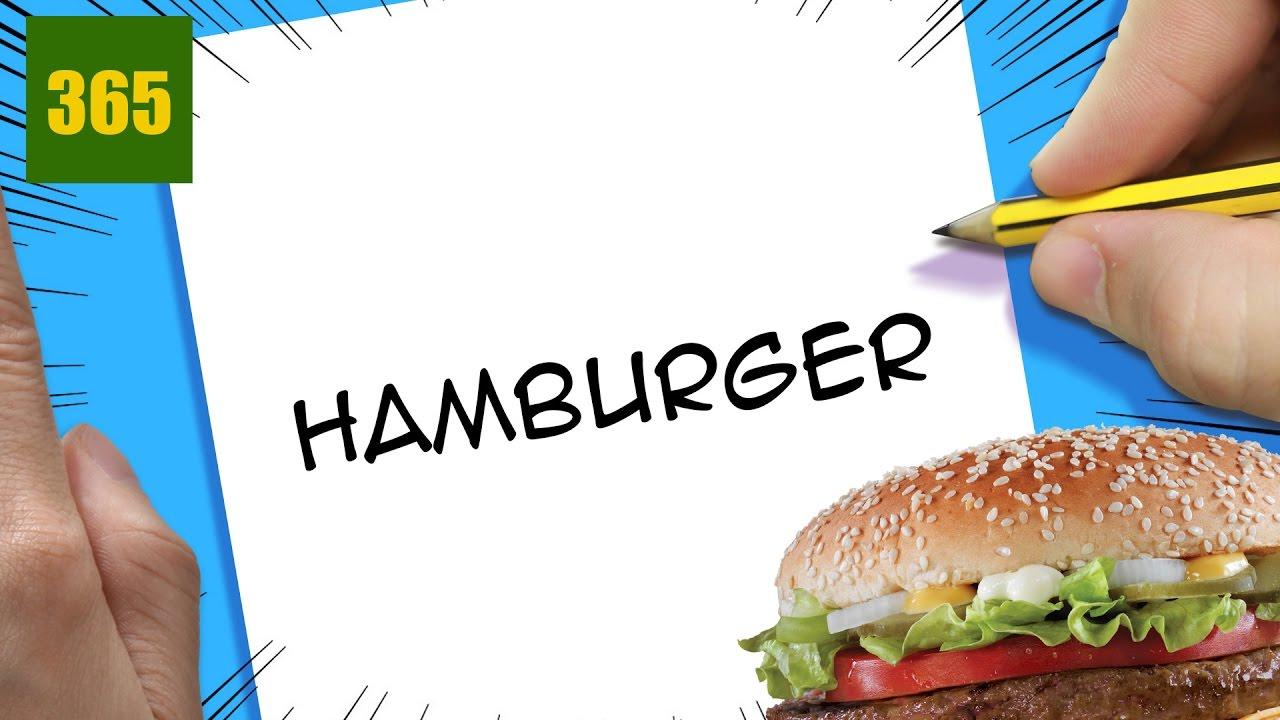 Hamburger Challenge Dessiner Un Hamburger Avec L Aide De Ses Paroles Youtube