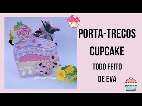 Porta-trecos Cupcake