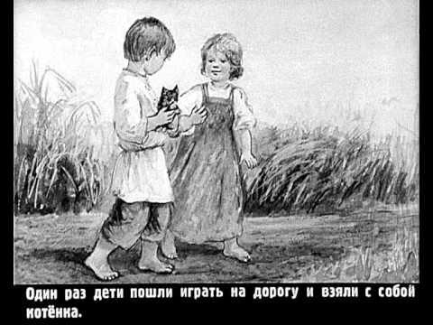 Л.Толстой Котёнок