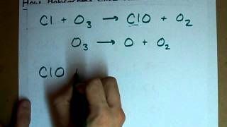 Ozone Depletion - Role of Halocarbons