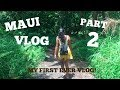 WE NEARLY FELL OFF A CLIFF?! MAUI VLOG PART 2!