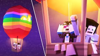 Minecraft The Purge - HOT AIR BALLOON ESCAPE! #29 | Minecraft Roleplay