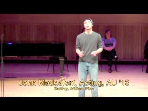 Adelphi University Broadway Revue '10, Rehearsal