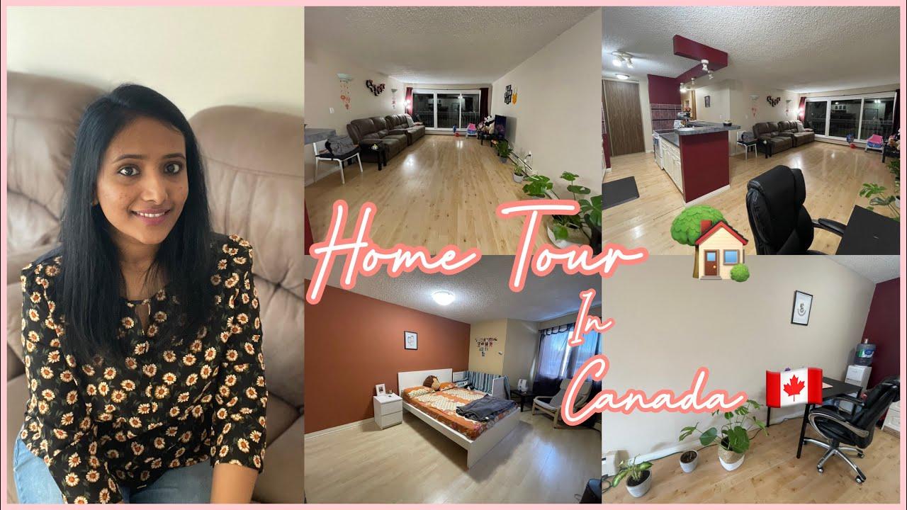 My Apartment Tour! / House Tour In Canada 🇨🇦 / Poojitha Karthik
