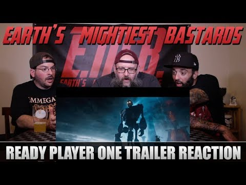 Trailer Reaction: Ready Player One