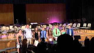 School Song - Matilda the Musical (Miller Place Vocal Jazz Octet Cover)