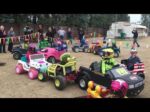 Sycamore speedway powerwheels demo August 24 2018