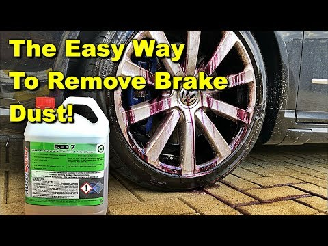 The Best Way To Clean Brake Dust off Your Wheels