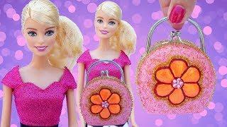 BARBIE Petit PURSE HANDBAG Paint Your own Decorate Glitter Pink Accessories Shop
