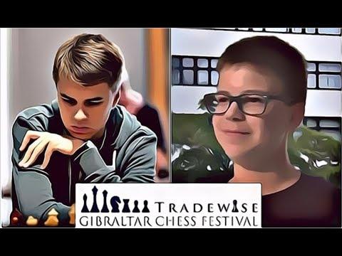 Rasmus Svane vs David Gavrilescu Gibraltar Masters R3 - Catalan Opening [English Version]