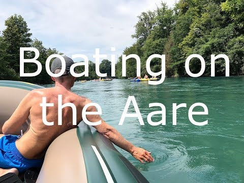 Boating On The Aare