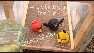 КРАСИМ ТЕПЛИЦУ | Angry Birds On The Run | Brash Show