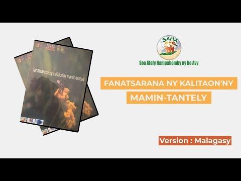 FANATSARANA NY KALITAON'NY MAMIN-TANTELY