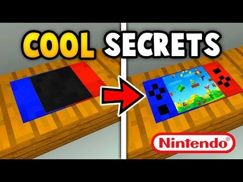 Thumbnail: MINECRAFT 5 CRAZY SECRET THINGS YOU CAN MAKE (Ps3/Xbox360/PS4/XboxOne/WiiU)