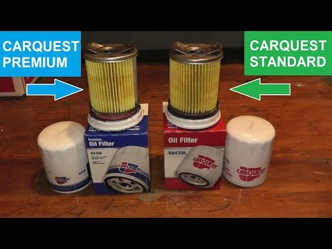 Carquest Standard Oil Filter Vs Carquest Premium Oil Filter