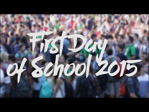 Los Gatos High School: First Day of School 2015