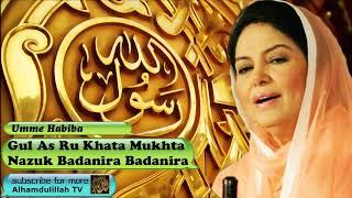 Gul As Ru Khata mukhta nazuk badanira - Persian Audio Naat with Lyrics - Umme Habiba