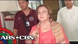 Leila de Lima on Napoles list