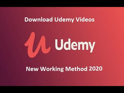How To Download Video From Udemy On Your Computer New Method Without Any Software