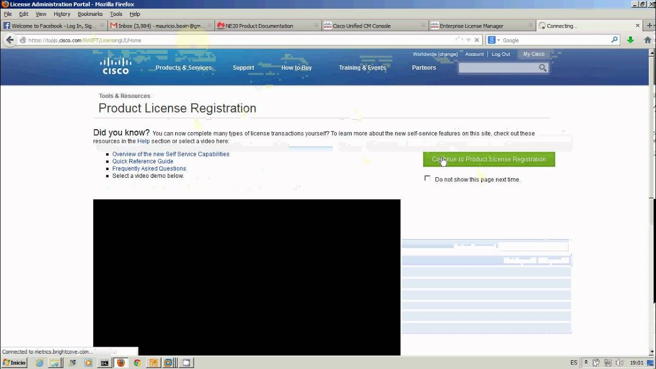 Licensing Cisco Call Manager 9 1 with ELM and Free Demo License (spanish)
