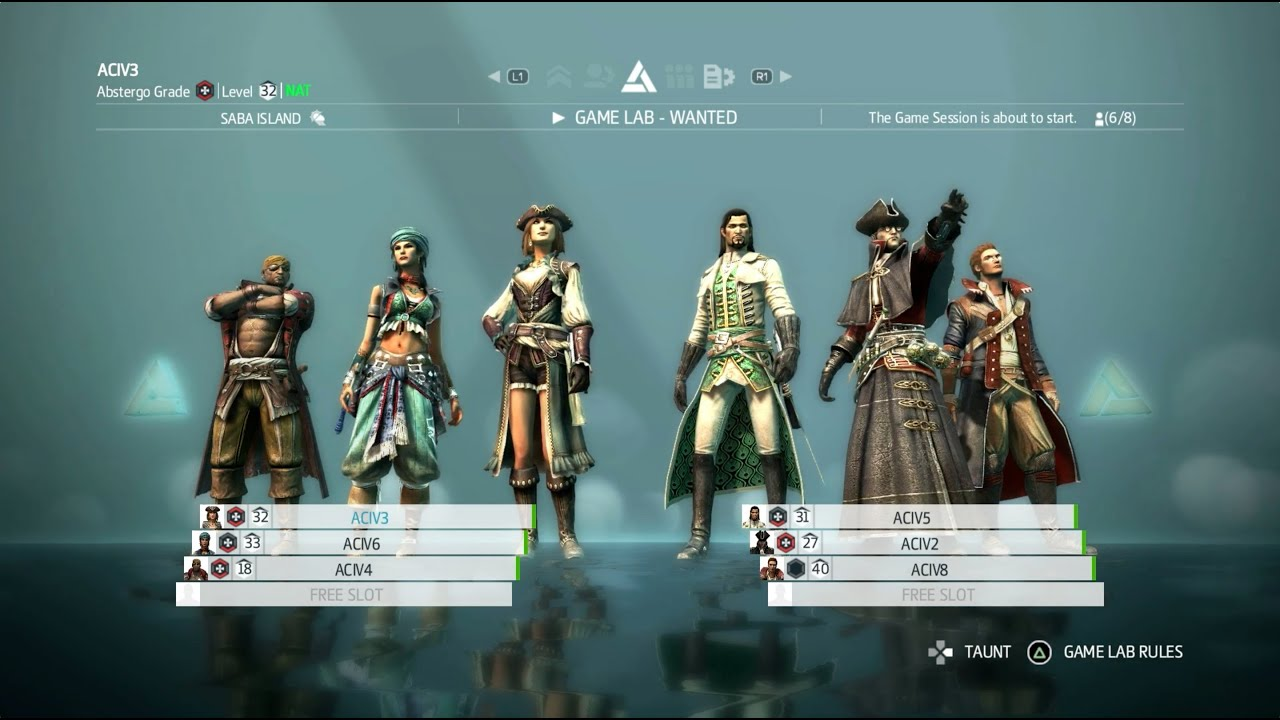 Assassin s creed black flag multiplayer
