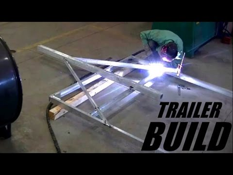 Aluminum Trailer Build Youtube