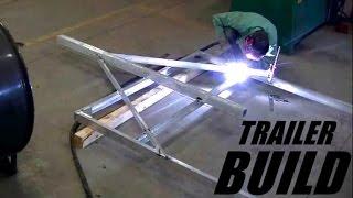 Aluminum Trailer Build