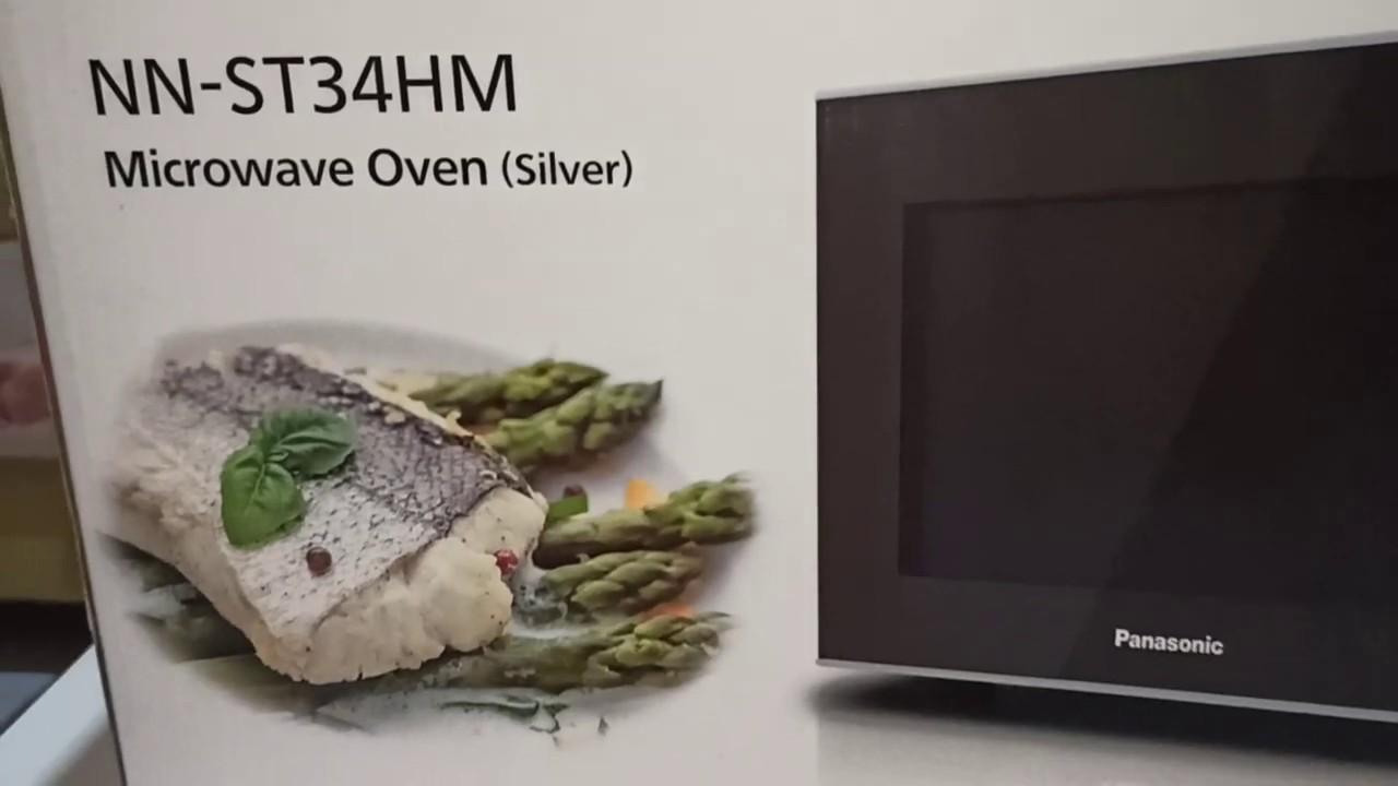 Microwave Oven Panasonic Nn St34hm