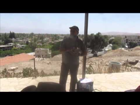 Tell Jericho (Tell es-sultan) - Dr. Hagi Amitzur lectures on the biblical history of Jericho