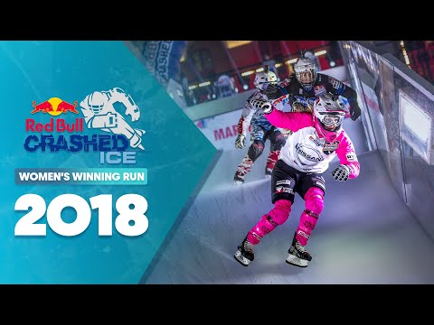 Who won Red Bull Crashed Ice 2018 France - Women's Winning Run.