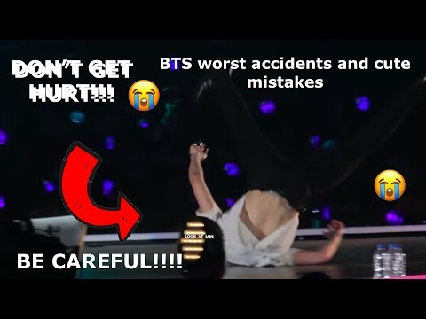 BTS WORST ACCIDENTS AND CUTE MISTAKES 2018 2019 Love yourself tour edition * BTS is also Humans*