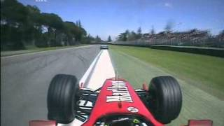 F1 2004 San Marino Onboard Race Natural Sounds