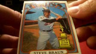 1972 Topps Baseball Wax Pack Boxbreakers Group Break