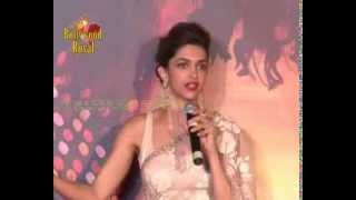 Deepika Padukone & Ranveer Singh at trailer launch of 'Ram Leela' 2