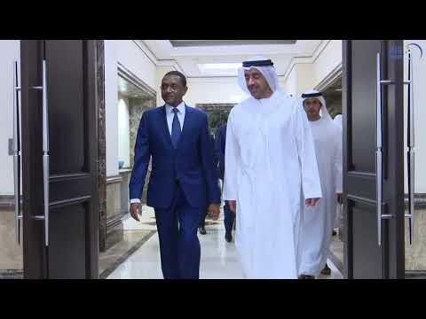عبد الله بن زايد يستقبل وزير خارجية تشاد