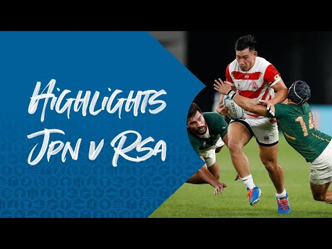 HIGHLIGHTS: Japan 3-26 South Africa – Rugby World Cup 2019