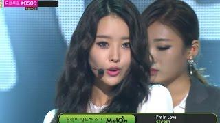 【TVPP】Secret - I'm in Love (White ver.), 시크릿 - 아임 인 러브 @ Show! Music Core Live