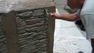 Decorative Concrete Simulated Stone Masonry