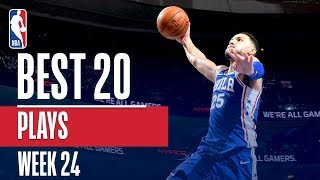 Best 20 Plays From Week 24 of the NBA Season (Jaylen Brown, Gerald Green, Markelle Fultz, and More!)