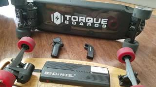 $399 Electric Skateboard - Benchwheel Penny Board Review