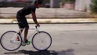 How to stop a fixed gear bicycle