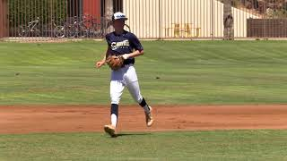 Jared Anderson Baseball Skills Video, Class of 2020, 2B/SS