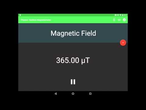 Physics Toolbox Magnetometer