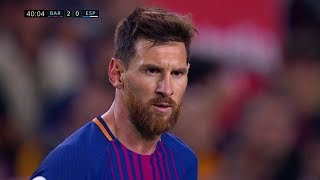 Lionel Messi vs Espanyol (Home) 17-18 HD 1080i (09/09/2017) - English Commentary
