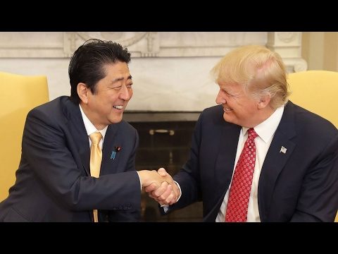 Trump vows cooperation with Japan